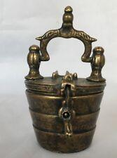 ANCIENNE BELLE PILE DE POIDS EN BRONZE MESURE NUREMBERG  C1016