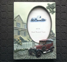 """VINTAGE CAR """"Beige"""" Beautiful Novelty Decorative Photo Frame Picture Display"""