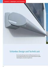 Kassettenmarkise Weinor Cassita II LED - 5m x 3m inkl. Funksteuerung