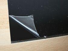 1 Hart PVC Kunststoffplatte schwarz 495x495x4mm