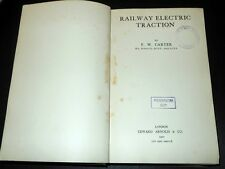Ferrovie Regno Unito - Railway Electric Traction - London 1922