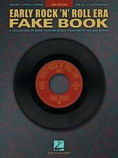 Early Rock'N'Roll Era Fake Book Sheet Music Real Book Fake Book NEW 000240167