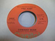 Rock 45 EDWARD BEAR Last Song on Capitol