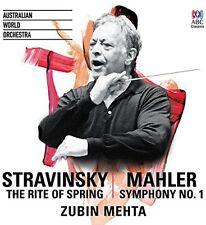 Stravinsky / Mahler - Rite of Spring / Symphony No. 1 [New CD]