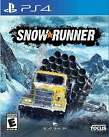 SNOWRUNNER PS4 - PLAYSTATION 4 [Digital Download Principal] Multilanguage