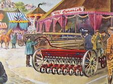 Foire pittoresque vers 1930  G. Sabran Moissonneur de l'Univers 1959 Mc Cormick