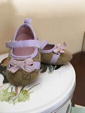 Scarpe Ballerine bimba neonata modello Gucci n. 19