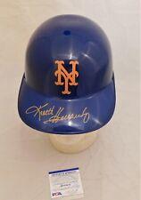 Keith Hernandez Signed / Autographed New York Mets Full Size Batting Helmet PSA