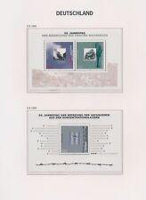 XC94750 Germany 1995 mixed thematics sheets MNH