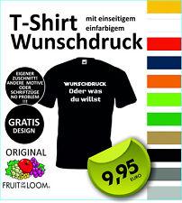 JGA-Shirt T-Shirt mit Wunschdruck, eigenem Logo, Wunschtext, selbst gestalten #1