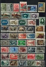 Lot of used stamps (full sets + singles), Vf, Soviet Union/Russia, 1930s/1950s