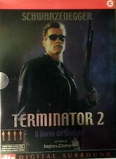 TERMINATOR 2 - Cameron 2 DVD Digipack prima edizione Schwarzenegger Hamilton OOP