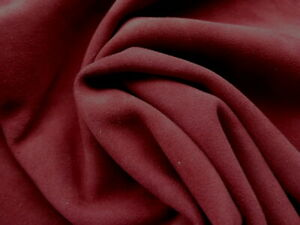 goatskin leather suede partial hide Burgundy Red drapey butter soft & strong