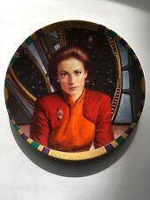 Star Trek Deep Space Nine Major Kira Nerys Plate Coa Hamilton
