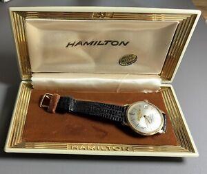 Hamilton Thin-O-Matic in Presentation Box~Gold Filled~Original Band~Barely Worn