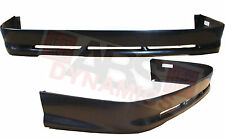 2005 2006 Rear Lip for Toyota Corolla Atlas Style Black Unpainted ABS Plastic