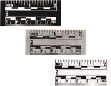 Forensic - Crime Scene Examination: Photo Scale Adhesive (Grey/Black) PSA-GB