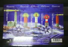 Finland 2003 Lighthouses Sheet First Day Cancel Scott # 1197