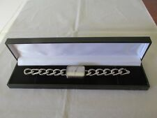 Vintage Sterling Silver Golana Watch Wristwatch Chain Band