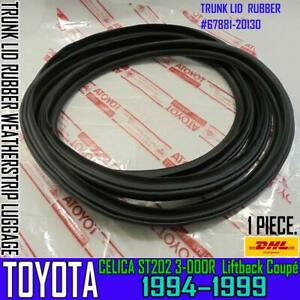 FOR TOYOTA CELICA ST202 3-Door Coupé TRUNK LID SEAL RUBBER WEATHERSTRIP LUGGAGE