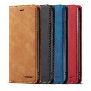 Leather Wallet Flip Shockproof Case Cover For iPhone 12 Pro Max 11 X Xr 8 7 Plus