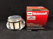 New Motorcraft Genuine Ford FD4596 Diesel Fuel Filter With Gaskets F81Z-9N184-AA