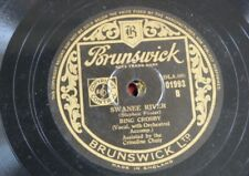 78rpm BING CROSBY swanee river / it`s easy to remember