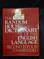 Random House Dictionary of the English Language Unabridged 2nd edition 1987