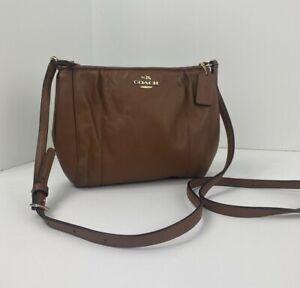 Coach Crossbody Bag Colette F52177 Saddle Brown Leather B3M