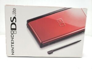 Nintendo DS Lite Console W Charger Everything Brand New Except motherboard