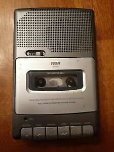 RCA RP3503A Personal Portable Cassette Tape Recorder Player Tested works great