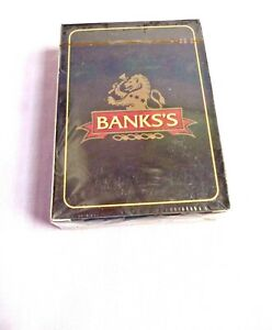 Set of Official Vintage Banks's Playing  Card's . Still sealed