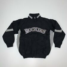 Kids Colorado Rockies Jacket Size Youth Small MLB Baseball