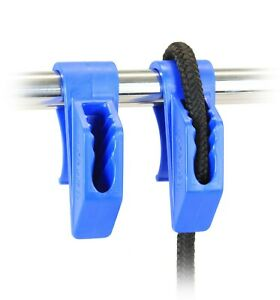 "Boat Fender Hanger 1"" Rails Mooring Line Hanger for Bumpers Cleats - 1 Pair F036"