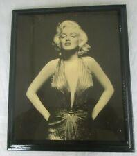 Marilyn Monroe Photo Gentlemen Prefer Blondes on Board w/ Urethane CLEAVAGE
