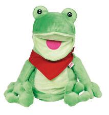 HANDPUPPE Frosch + Halstuch Froschpuppe Stofffrosch Kinderhandpuppe Stoffpuppe
