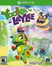 Yooka-Laylee (Microsoft Xbox One, 2017)  *Factory Sealed*