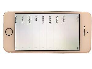 Apple iPhone SE - 16GB - Rose Gold (Unlocked) A1662 (CDMA + GSM) - MINT
