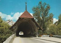 "*Switzerland Postcard-""Small Tunnel-Wooden Bridge""  (U2-306)"
