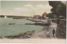 The Esplanade Cowes, Isle of Wight F.G.O. Stuart 127 Postcard B800