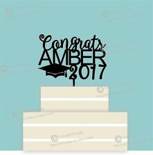 Personalised Acrilico LAUREA Cake Topper Decorazione