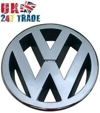VW POLO Mk5 6R FRONT 120mm GRILLE EMBLEM CHROME BADGE 6R0853600A