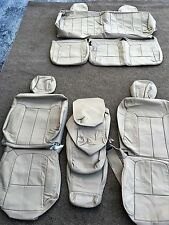 LEATHER SEAT COVERS FOR 2010 FORD F150 SUPER CAB SANDSTONE #132