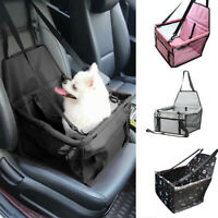 40*30*25CM Large Car Seat Carrier Cat Dog Pet Puppy Travel Cage Booster Belt