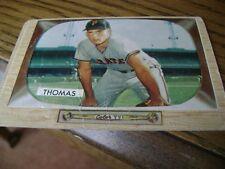 1955 Bowman FRANK THOMAS Pittsburgh Pirates #58 Baseball Card