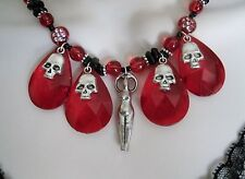 Kali Ma Goddess Necklace, handmade wiccan pagan wicca witch witchcraft magic