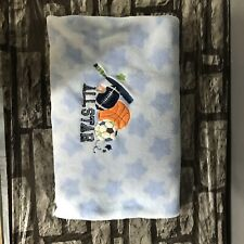 Circo All Star Blue Sports Baby Crib Blanket With Stars