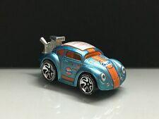 2020 Hot wheels id series > Volkswagen Beetle Gulf id , Blue Loose