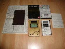 SOLAR DERBY EXCITING HORSE RACE GAME & WATCH LSI BY BANDAI IN 1985 NEW IN BOX