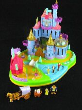 Polly Pocket Beauty and the Beast Disney Castle 1997 100% Complete HTF